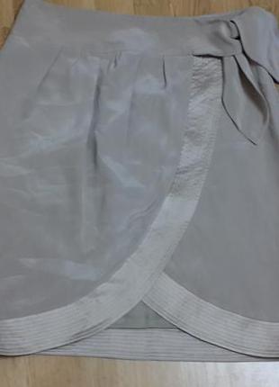 Стильная шелковая юбка reiss