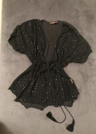 Шикарная блузка шелк