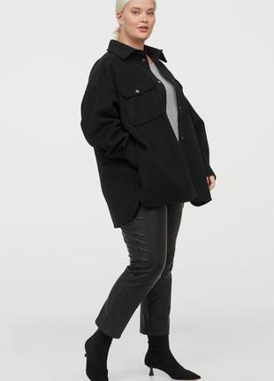 Куртка рубашка h&m + xl-xxl