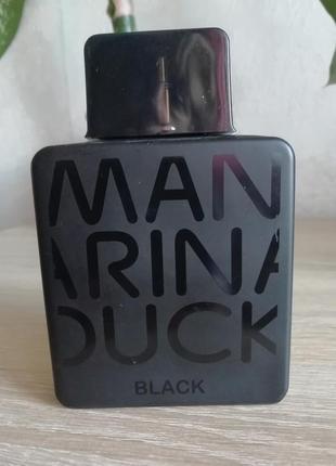 Mandarina duck pure black, оригинал!!!