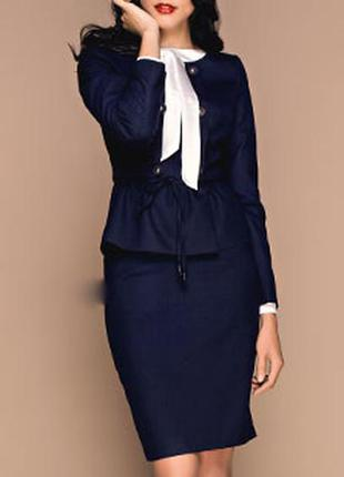 Костюм(юбка+жакет/пиджак) от тм vilonna, отличное качество