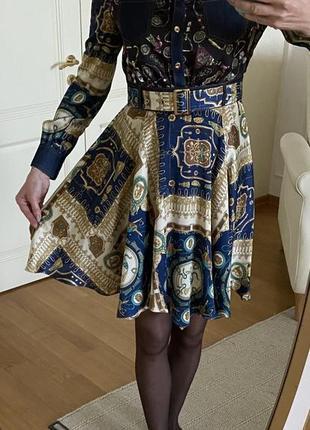 Платье шелковое d&g