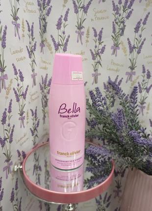 Дезодорант franck olivier, bella, для жінок, 250 мл.