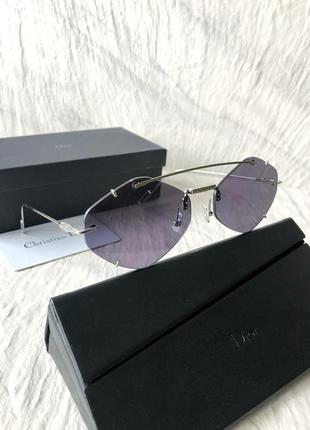 Солнцезащитные очки в стиле dior inclusion sunglasses5 фото