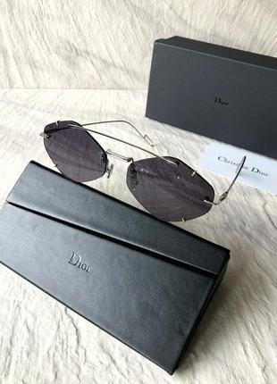 Солнцезащитные очки в стиле dior inclusion sunglasses6 фото