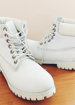 ... Зимние женские белые ботинки timberland 6 inch all white original3 ... d5fa8dd2ba6c5