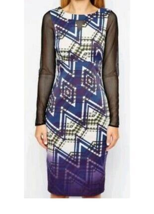 Изысканное платье миди karen millen