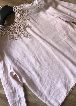 Блуза лён