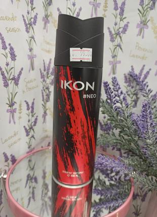Дезодорант-спрей ikon чоловічий 200мл neo
