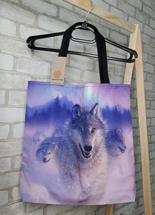 Эко-сумка the mountain «горный волк»