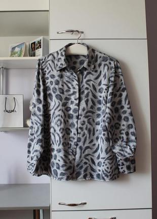 Шелковая блуза от marks&spencer