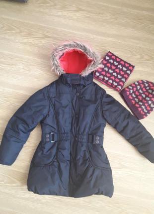 Куртка, парка sweet milli 6-7лет, рост 116-122см