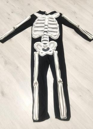 Карнавальный костюм  для хэллоуин.  костюм скелета.