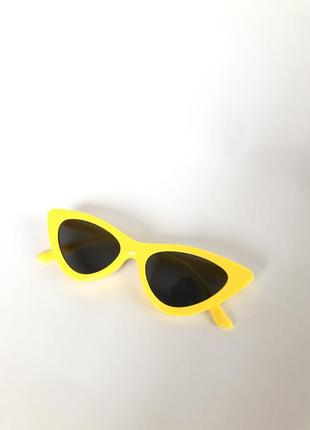 Очки желтые кошачий глаз