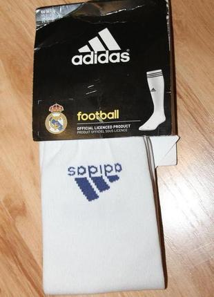 Футбольные гетры adidas, 100% оригинал. eu 34-36.