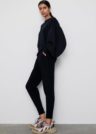 Zara трикотажные штаны