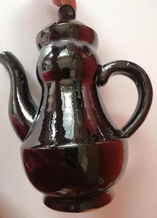 Кофейник, керамика