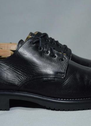 Navyboot туфли дерби броги мужские кожаные. швейцария. оригинал. 42-43 р./27.5 см.