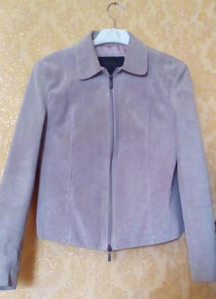 Натуральная замшевая куртка пиджак жакет  arma
