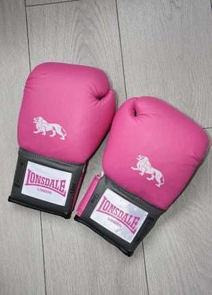 Новые боксерские перчатки lonsdale pro training glove 12 oz оригинал 12 унций лонсдэйл