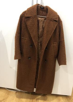 Пальто кирпичного цвета!