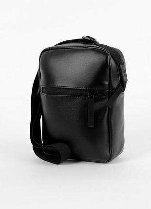 Сумка через плечо punch - hide eco, black