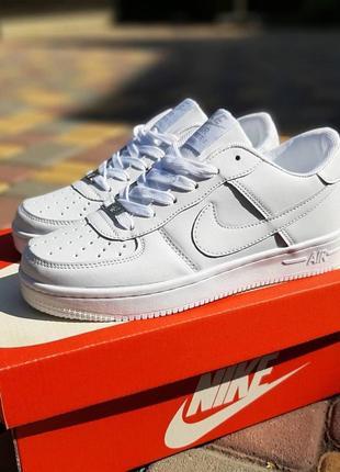 Nike air force 1  белые2 фото