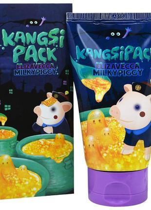 Маска с золотом и коллагеном elizavecca face care milky piggy kangsipack, 120 мл