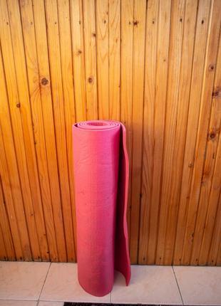 Килимок для фітнесу, коврик для фитнеса, йоги, танцев, гиснастики, каремат