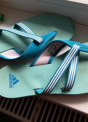 Шлепанцы шлепки вьетнамки адидас adidas