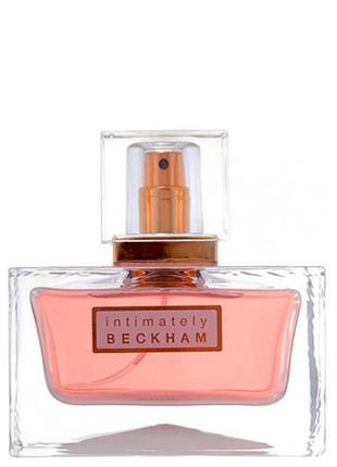 Парфюм intimately beckham david beckham для женщин 50 ml.
