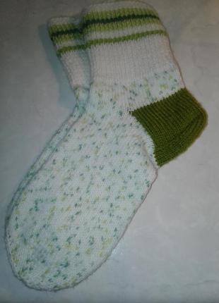 Теплые вязанные носки (39)