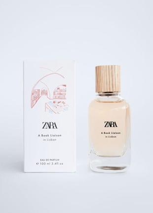 Парфюмированна вода zara женская a book liaison in  lisbon edp-100-ml