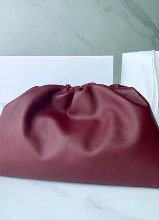 Женская сумка клатч с длинным ремнем бренд