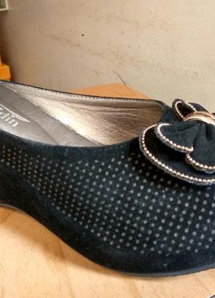 Красивые женские сабо, модные шлёпанцы на танкетке, 36-37 размер