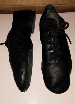 Джазовки, 37,38,39 кожаная обувь для танцев