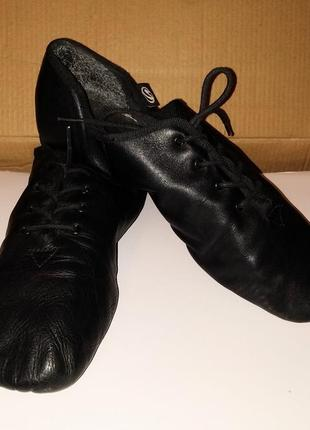 Джазовки, 37,38,39 кожаная обувь для танцев2 фото