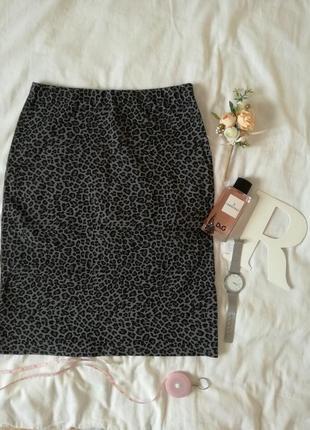 Леопардова юбка