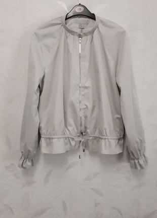 Стильный, элегантный пиджачек, куртка, 44-46, хлопок, h&m