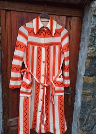 Халат платье винтаж