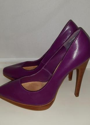 Шикарные фиолетовые туфли new look gorgeous, 💯 оригинал, молниеносная отправка