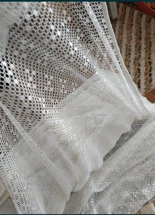 Тюль  сетка на окно