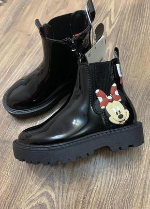 Черевики /ботинки zara микки маус