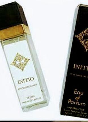 Тестер на основе натуральних масел initio