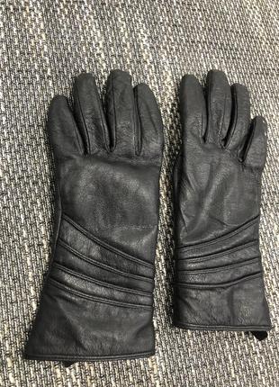 Шкіряні рукавиці