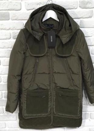 Куртка курточка парка плащ тренд пальто пуховик
