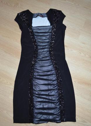 Стильна вечірня сукня seam