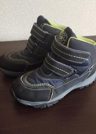 Деми ботинки фирменные на мембранной основе fl-tex