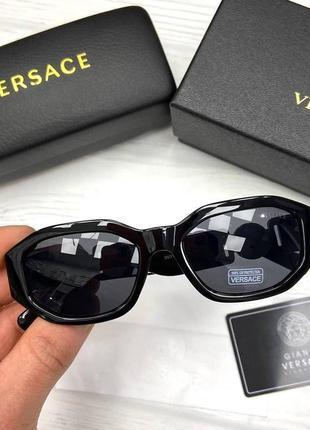 Женские очки, люкс черные1 фото
