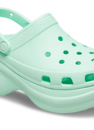 Женские кроксы сабо  women's crocs classic bae clog neo mint